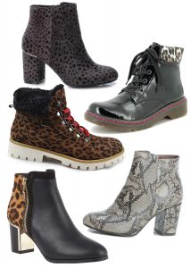 Animal Print Shoes Boots