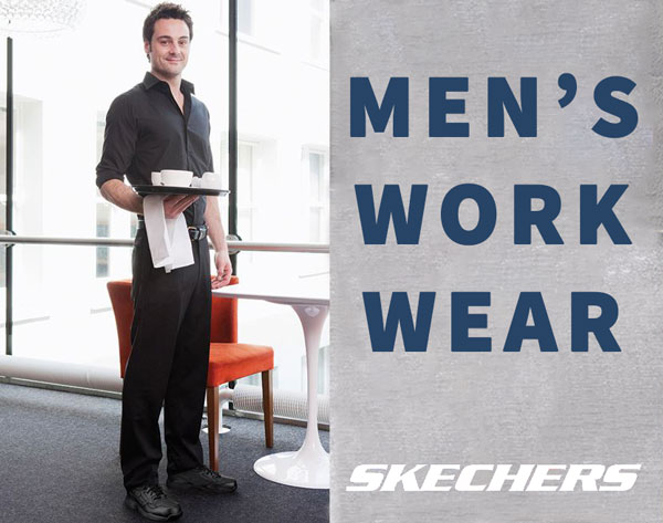Skechers Mens Work Wear Safety Shoes