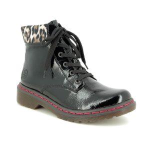 Rieker Docsy Leopard Print Boots