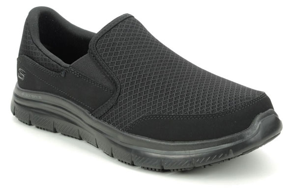 Skechers Safety Work Mcaellen Slip Resistant Shoes