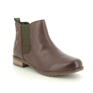 Investment Boots Barbour Abigail Brown Leather Ankle Boots