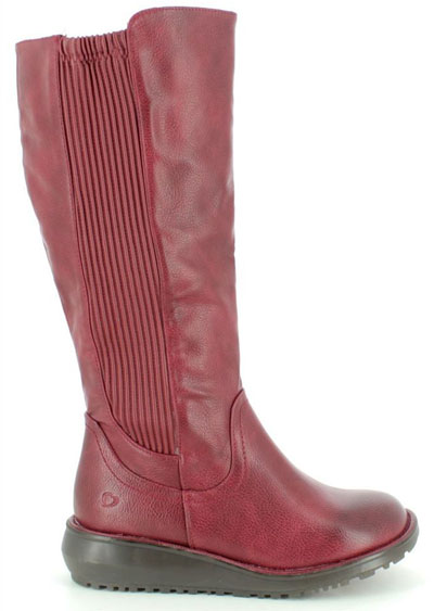 Wide Calf Boots Heavenly Feet Lacey Ursula