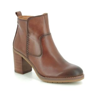 Investment Boots Pikolinos Pompeya Tan Leather