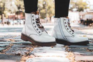 Womens Boots Bugatti Neria Marten White Ankle Boots