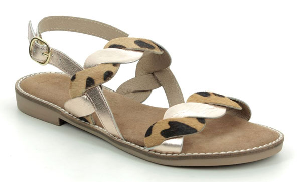Marco Tozzi Animal Print Sandals