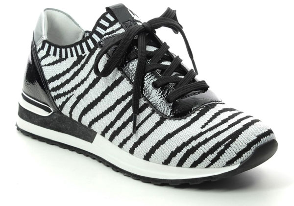 Remonte Vapoz Zebra Print Shoes