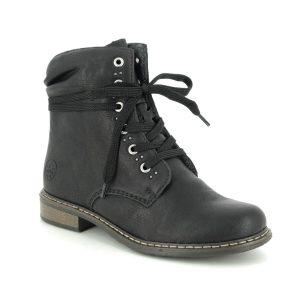 Rieker Black Ankle Boots