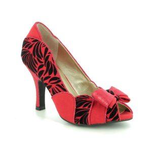 Ruby Shoo Red Heels