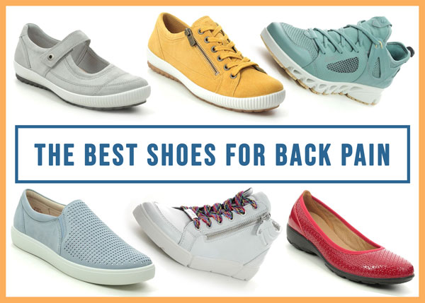 Ladies best shoes for back pain