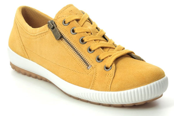 Legero Tanaro Yellow Shoes for back pain