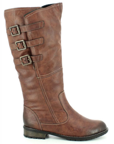 Remonte Shebuc Wide Leg Knee High Boots
