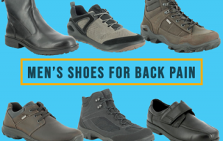 Foot Health Guide Mens Shoes for Back Pain