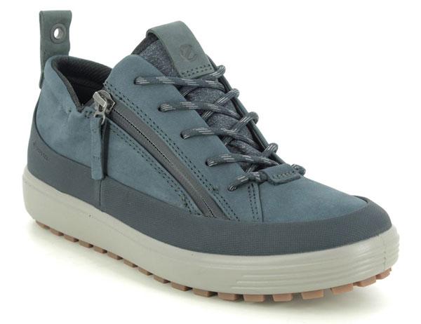ECCO Soft 7 Lo GTX Navy Walking Shoes