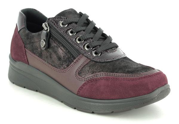 IMAC Alfalace 05 Wine Lacing Shoes for Plantar Fasciitis