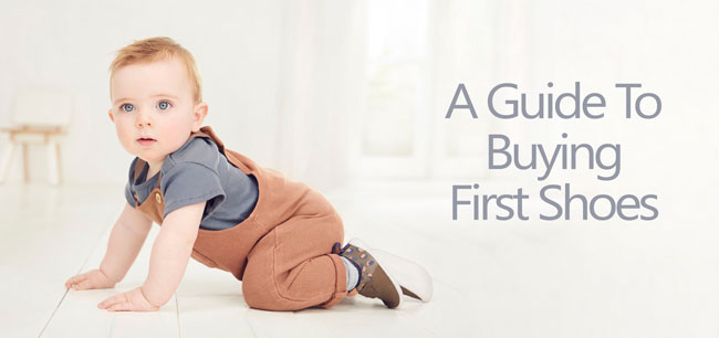 A guide to buyig first shoes