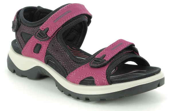 ECCO Offroad Lady Walking Sandals for Diabetes