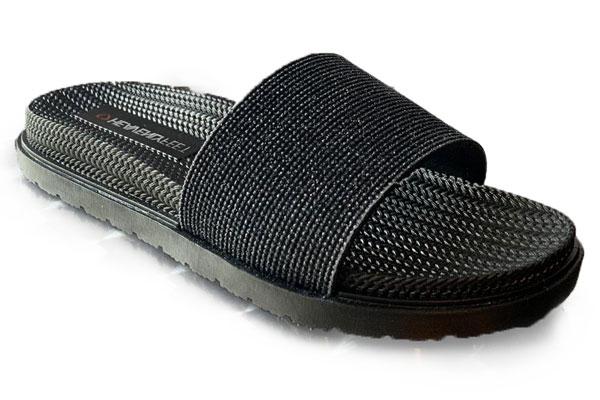 Heavenly Feet Dune Black Waterproof Sandals