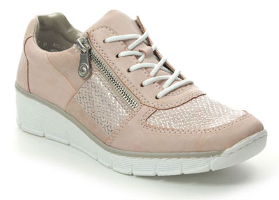 Rieker 53714-31 Rose Pink Trainers