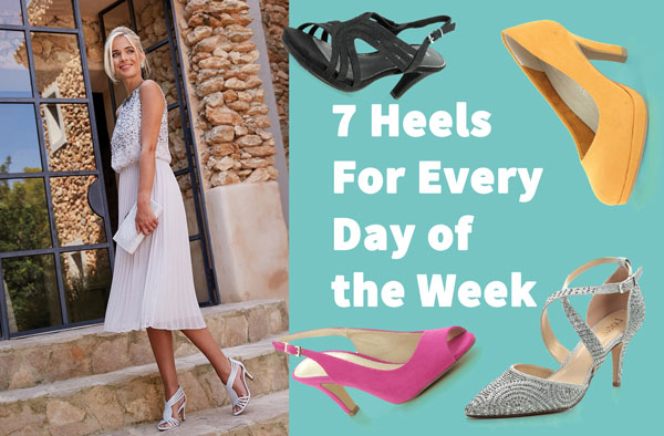 Heels for Every Day of the Week