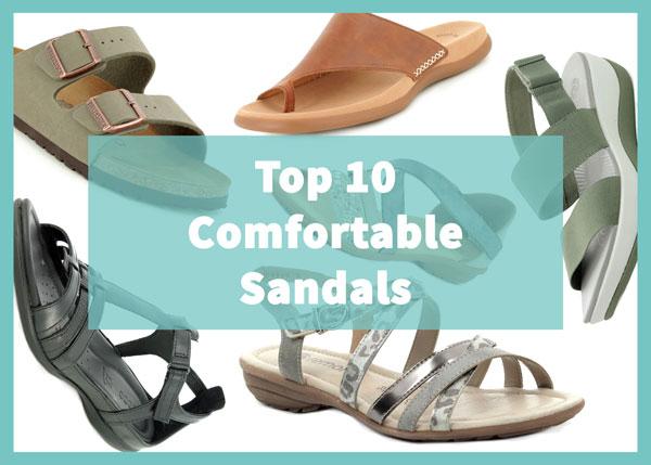 Top Comfortable Sandals
