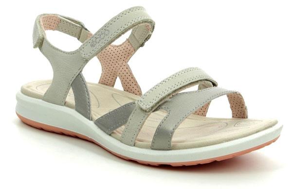 ECCO Cruise II Comfy Leather Sandals