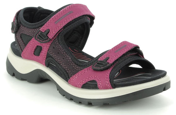 ECCO Offroad Lady Fuchsia Walking Sandals