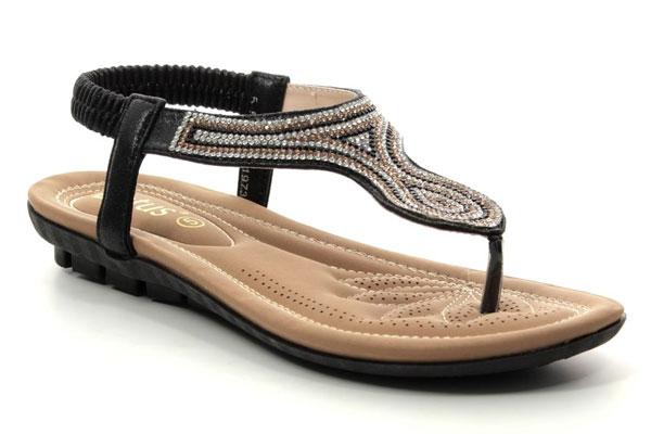 Lotus Delia Women's Toe Post Comfy Sandals