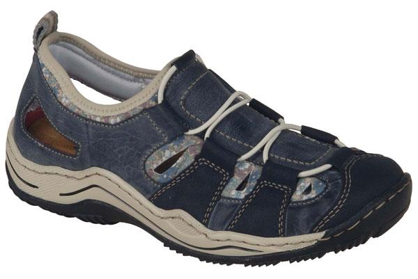 Rieker L0561-14 Jeer Women's Walking Shoes
