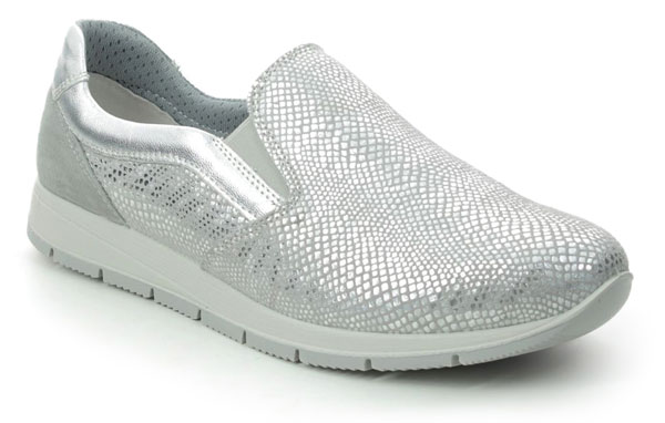 IMAC Edith Silver Slip On House Shoes