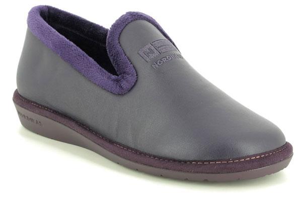 Nordikas Tabackin 95 Leather House Shoes