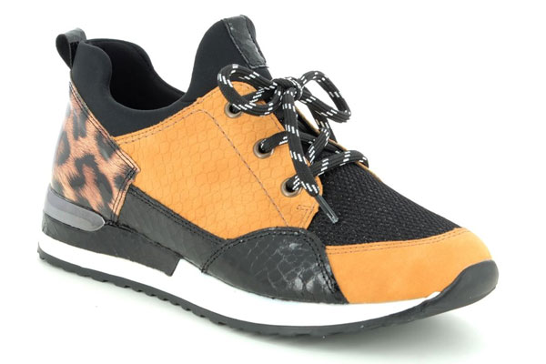 Remonte Vapour R2503-68 Yellow Trainers Summer Shoe Trends