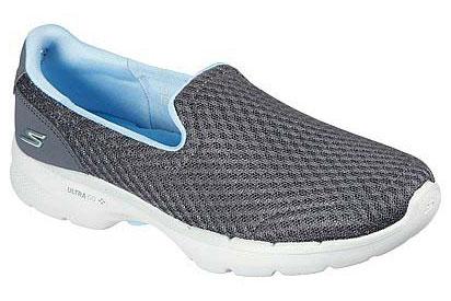Skechers Go Walk 6 Grey Trainers