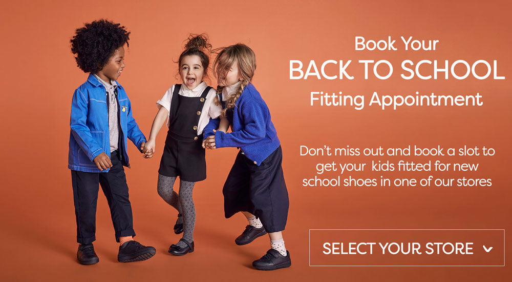 Book a kids fitting appointment