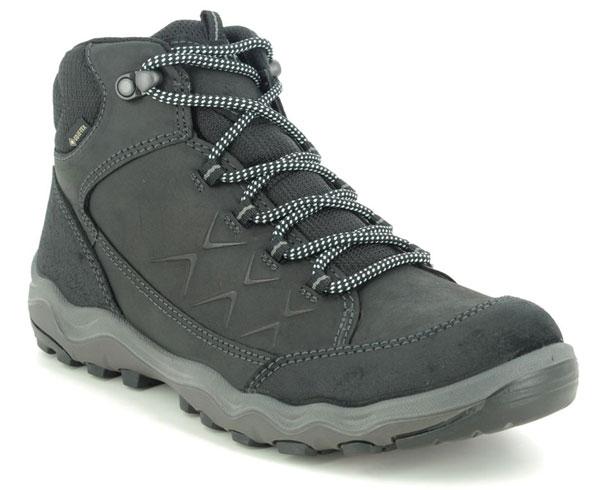 ECCO Ulterra Women's Gore Tex Black Leather Walking Boots