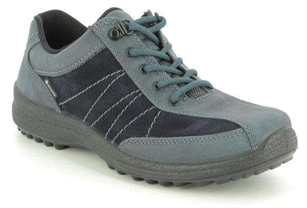 Hotter Mist Gore Tex Navy Walking Shoes