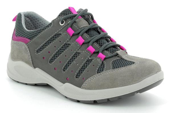 IMAC Runner Grey Walking Shoes