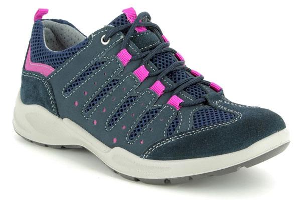 IMAC Runner Navy Walking Shoes