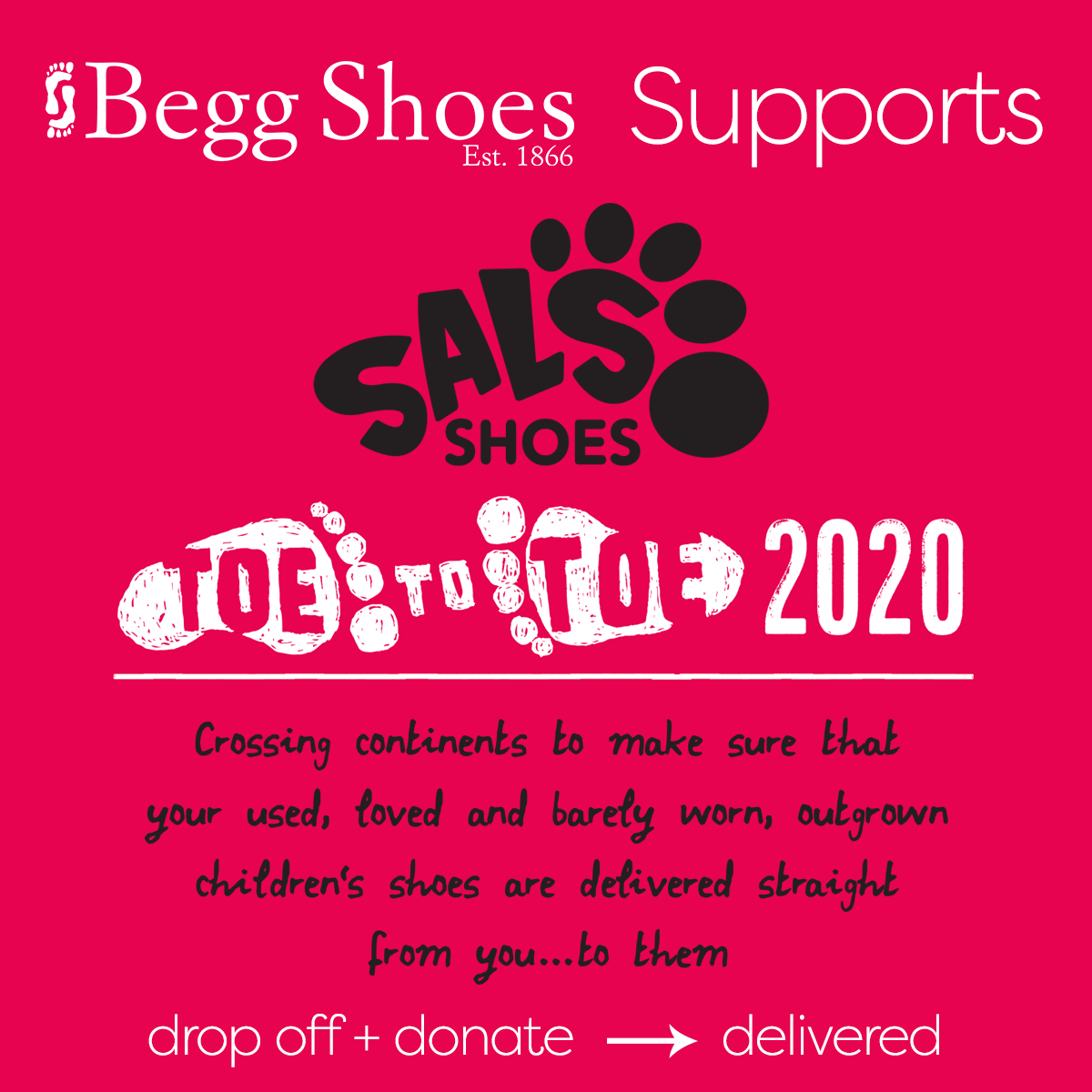 Begg Shoes Supports Sal's Shoes