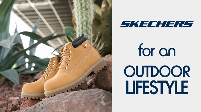 Skechers for an Outdoor Lifestyle
