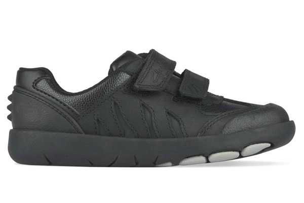 Clarks Rex Stride Boys School Shoes