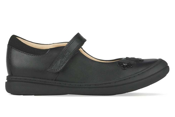 Clarks Scooter Daisy Girls School Shoes