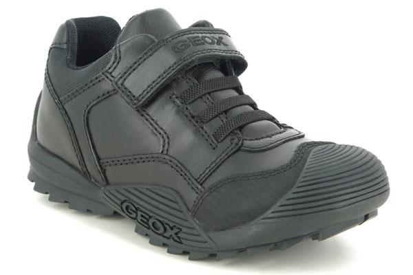 Geox Savage Bungee Hard Wearing School Shoes