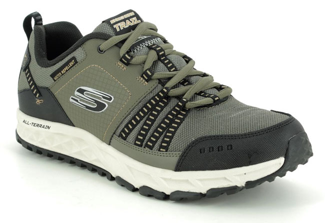 Skechers Escape Plan Water Repellent Trainers