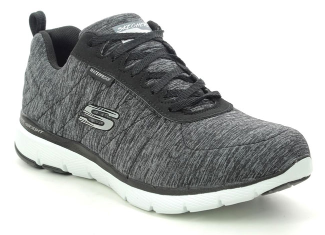 Skechers Flex Appeal Tex Waterproof Trainers