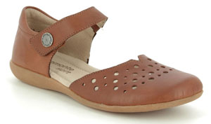 Remonte Fiona Vel Leather Closed Toe Sandals for Sweaty and Smelly Feet