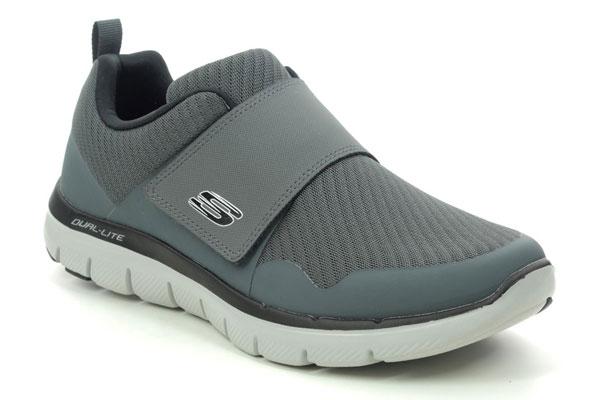 Skechers Gurn Velcro Shoes for Back Pain