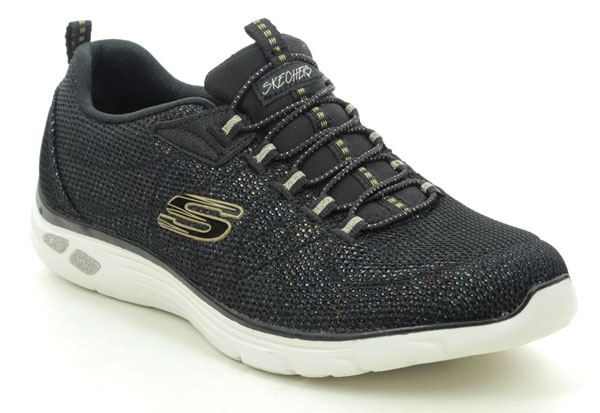 Skechers Empire Grace Wide Fit Trainers