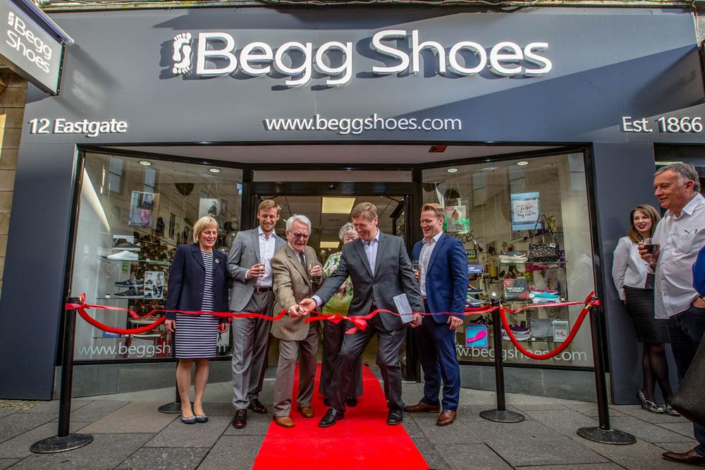 a1dac86e073 Inverness Shoe Shop | 28 Union Street and 12 High Street | Begg Shoes