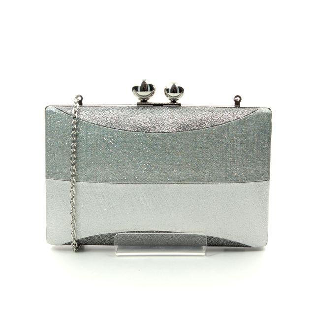 Menbur Vedun Bag 84629-09 Silver matching handbag