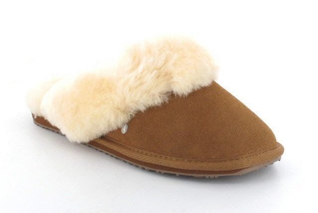 EMU Australia Jolie W10015-10 Chestnut Brown slipper mu